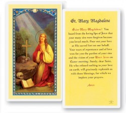 Prayer To Mary Magdalene Laminated Prayer Cards 25 Pack [HPR497]