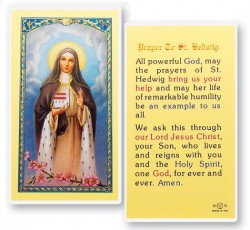Prayer To St. Hedwig Laminated Prayer Cards 25 Pack [HPR449]