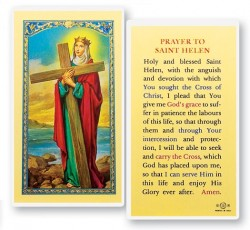 Prayer To St. Helen Laminated Prayer Cards 25 Pack [HPR448]