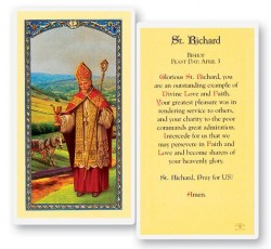 Prayer To St. Richard Laminated Prayer Cards 25 Pack [HPR530]