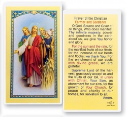 Prayer of A Farmer And Gardner Laminated Prayer Cards 25 Pack [HPR739]