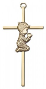 "Praying Boy Cross  6"" [CRB0033]"