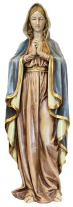 Praying Madonna Statue 37.5 Inches [SAR1009]