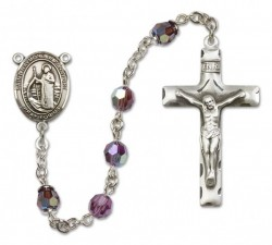 Raymond of Penafort Sterling Silver Heirloom Rosary Squared Crucifix [RBEN0053]