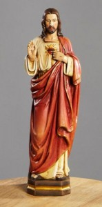 Sacred Heart of Jesus 12 Inch High Statue [CBST102]