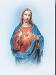 "Sacred Heart Large Poster - 19""W x 27""H [HFA0366]"