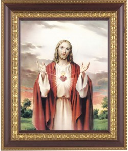 Sacred Heart of Jesus Framed Print [HFP105]