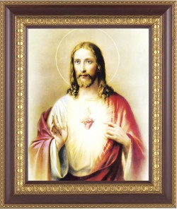 Sacred Heart of Jesus Framed Print [HFP111]
