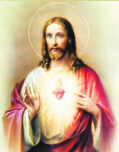 Sacred Heart of Jesus Print - Sold in 3 per pack [HFA1108]