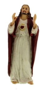 "Sacred Heart of Jesus Statue 3.5"" [RM50297]"