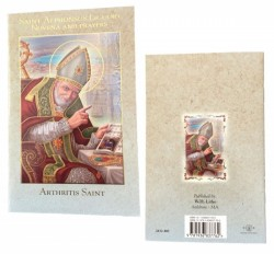 Saint Alphonsus Novena Prayer Pamphlet - Pack of 10 [HRNV403]