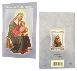 Saint Anne Novena Prayer Pamphlet - Pack of 10 [HRNV610]