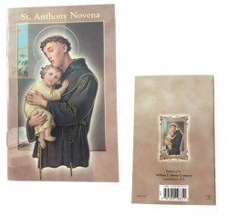 Saint Anthony Novena Pamphlet - Pack of 10 [HRNV300]