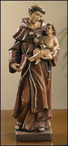 Saint Anthony Statue 8 Inch High Statue [CBST070]