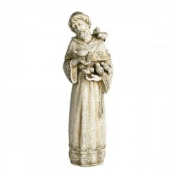 Saint Francis Outdoor Garden Statue 23 Inch High [CBST099]