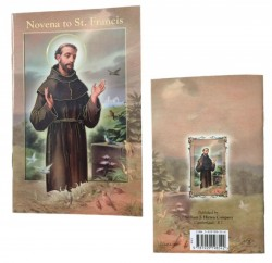 Saint Francis of Assisi Novena Pamphlet - Pack of 10 [HRNV310]