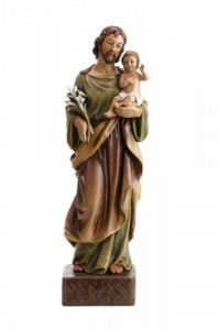 Saint Joseph and Christ Child 22 Inch High Statue [CBST104]