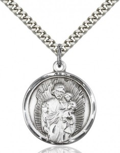 Rays of Light Saint Joseph Pendant [CM2083]