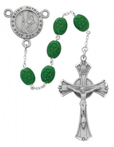 Saint Patrick Pray for Us Rosary [MVRB1097]