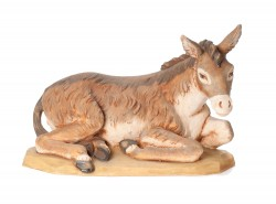 Seated Donkey Figure for 27 inch Nativity Set [RM0123]
