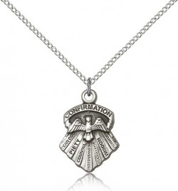 Women's Seven Gifts Confirmation Pendant [BM0615]
