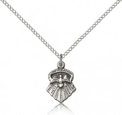 Girl's Seven Gifts Confirmation Pendant [BM0616]