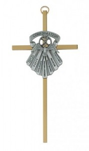 "Seven Gifts of the Holy Spirit 6"" Wall Cross [MC7703]"