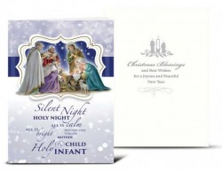 Silent Night Christmas Card Set [HRCR8102]