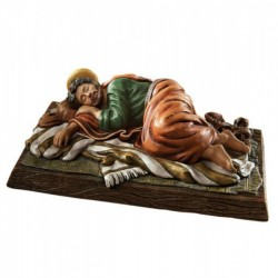 Sleeping Saint Joseph 6 Inch High Statue [CBST110]
