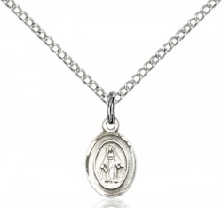 Baby Child Size Miraculous Medal Necklace [CM2145]