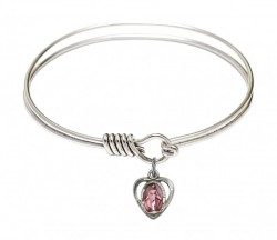 Smooth Bangle Bracelet with a Miraculous Charm [BRS5401EP]