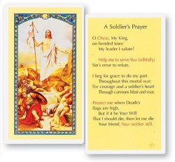 Soldier's Laminated Prayer Cards 25 Pack [HPR867]