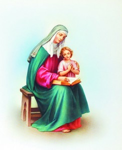 St. Anne Print - Sold in 3 per pack [HFA1163]