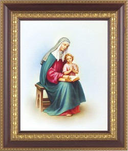St. Anne and Mary Framed Print [HFP610]