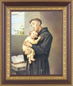St. Anthony Framed Print [HFP300]