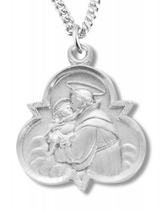 St. Anthony Medal Sterling Silver [REM2039]