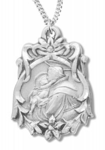 St. Anthony Medal Sterling Silver [REM2040]