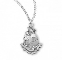 St. Anthony Medal Sterling Silver [REM2045]