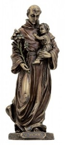 St. Anthony with Child Statue - 8 inches [GSS032]