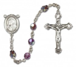 St. Bruno Sterling Silver Heirloom Rosary Fancy Crucifix [RBEN1107]