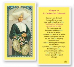 St. Catherine Laboure Laminated Prayer Cards 25 Pack [HPR418]