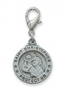 St. Christopher Clipable Charm [AUMV012]