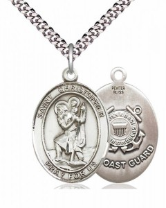 St. Christopher Coast Guard Medal [EN6051]