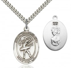 St. Christopher Dance Medal [EN6560]