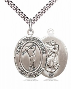 St. Christopher Golf Medal [EN6283]