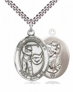 St. Christopher Golf Medal [EN6523]