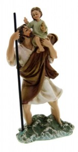 "St. Christopher Statue 4"" [RM46479]"