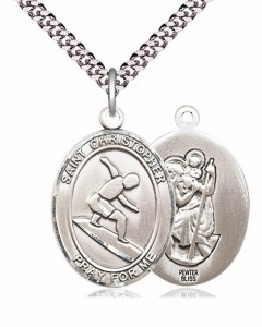 St. Christopher Surfing Medal [EN6315]