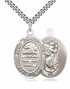 St. Christopher Swimming Medal [EN6288]