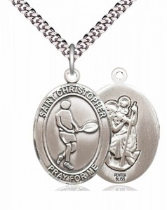 St. Christopher Tennis Medal [EN6287]